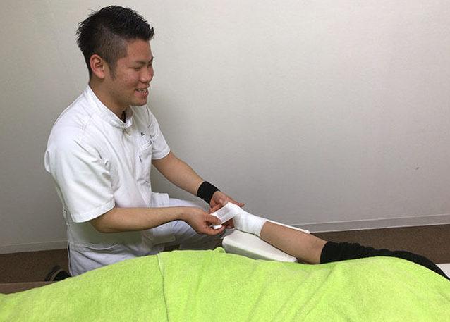 タップ接骨院の腱鞘炎の施術